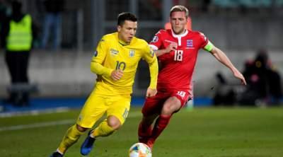 Украина поднялась на три позиции в рейтинге ФИФА