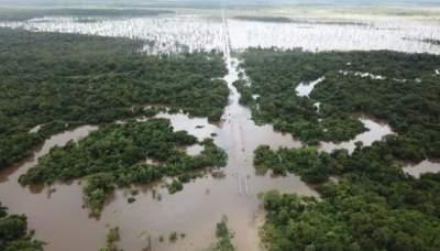 Из-за наводнения в Парагвае пострадали 20 тысяч семей