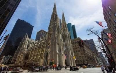 Мужчина пытался сжечь собор Святого Патрика в Нью-Йорке