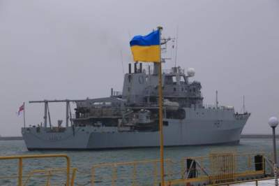 В пролив Босфор вошел британский разведывательный корабль