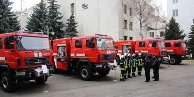 ГосЧС объявила тендер на 120 пожарных машин за 600 млн гривен