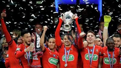 «ПСЖ» в финале Кубка Франции сенсационно проиграл «Ренну»