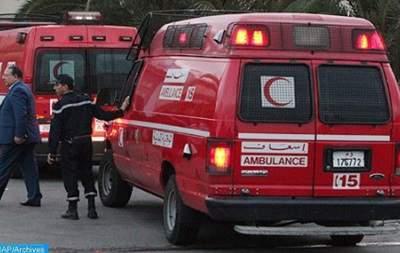 В Марокко автобус с мигрантами упал в пропасть