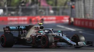Формула-1: Боттас выиграл Гран-при Азербайджана и возглавил чемпионат