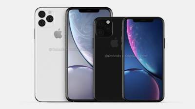 В Сети появились качественные рендеры iPhone XI и iPhone XI Max