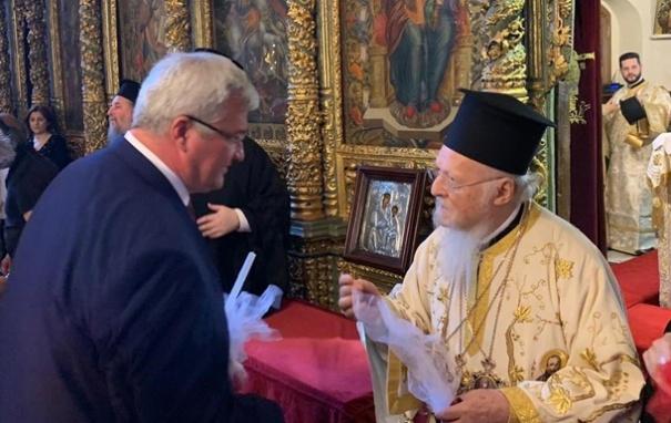 Послание патриарха на Фанаре впервые звучало на украинском языке