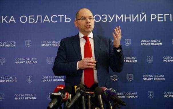 Кабмин поддержал увольнение главы Одесской ОГА Степанова