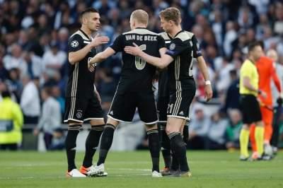 Лига Чемпионов: «Аякс» в первом матче 1/2 финала увез победу из Лондона