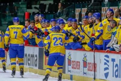 Хоккейный ЧМ-2019: Украина проиграла Эстонии, но осталась в дивизионе IB