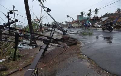 В Индии возросло число жертв циклона