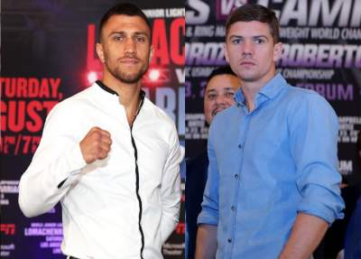 Ломаченко проведет бой за титул WBC с британцем Кэмпбеллом