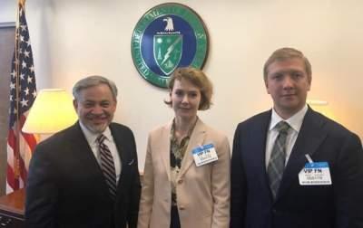 Украина хочет закупать сжиженный газ в США