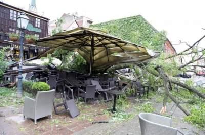 В Хорватии пронесся сокрушительный ураган