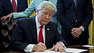 Трамп запретил использовать оборудование Huawei
