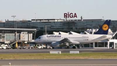Аэропорт Риги исправил написание украинской столицы