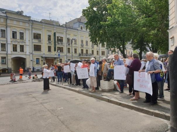 На Синод ПЦУ прибыл Филарет со своими сторонниками