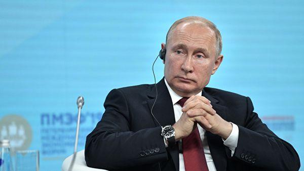 Путин заявил, что надеется познакомиться с Зеленским