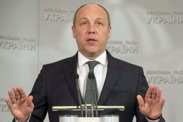 Парубий заявил о реализации плана Путина на Донбассе