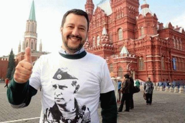 Вице-премьер Италии Сальвини заявил, что его хотели убить украинцы