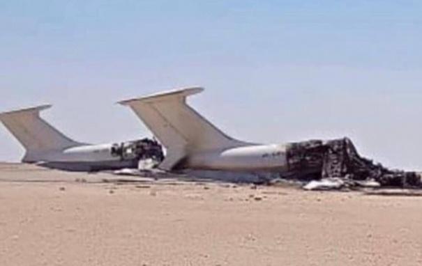 В Ливии ракетным ударом уничтожили два украинских самолета