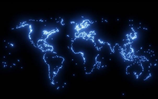 Канадец сделал необычные карты Земли