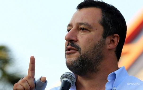 Полиция Италии опровергла заявление Сальвини о покушении на него украинцев