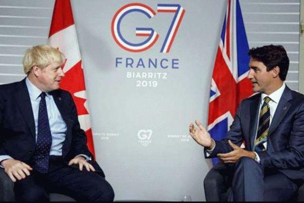 Трюдо поддержал позицию Украины на саммите G7