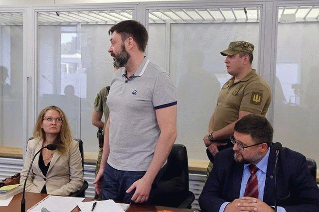 Вышинского хотят обменять на украинца