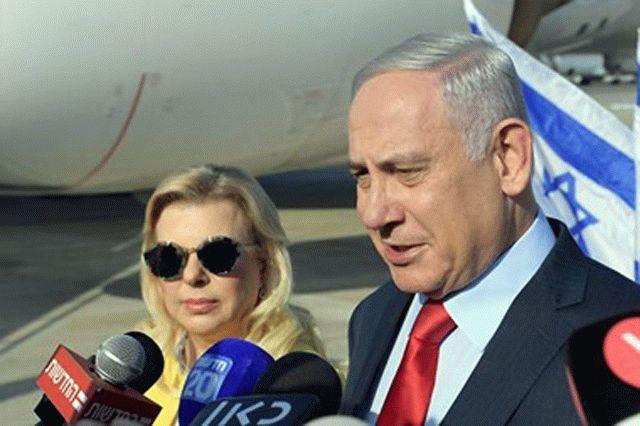 Жена Нетаньяху попала в конфуз во время визита в Украину