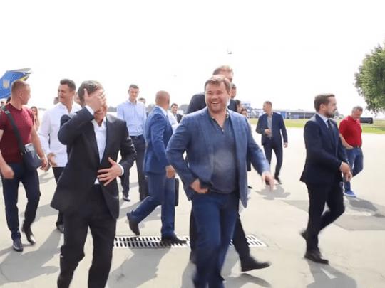 На видео попал загадочный диалог Зеленского с Богданом