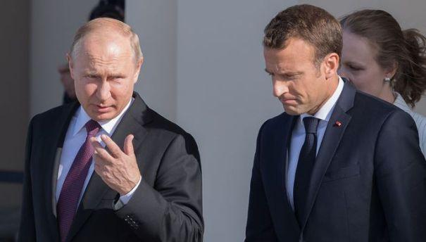Путин навязывает Макрону ущербную формулу Штайнмайера