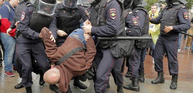 В Москве проходит многочисленный митинг «Отпускай»