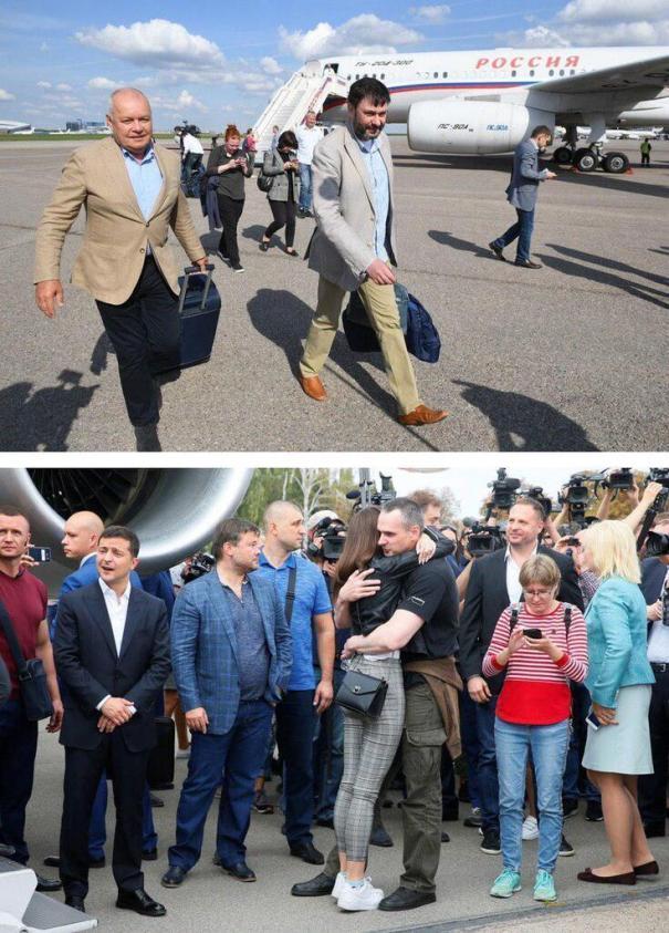 Сущенко поблагодарил за освобождение двух президентов