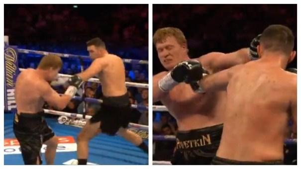 Поветкин побил Фьюри в бою за титул чемпиона WBA International