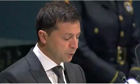 Зеленский в своей речи на ГА ООН обвинил Россию в агрессии