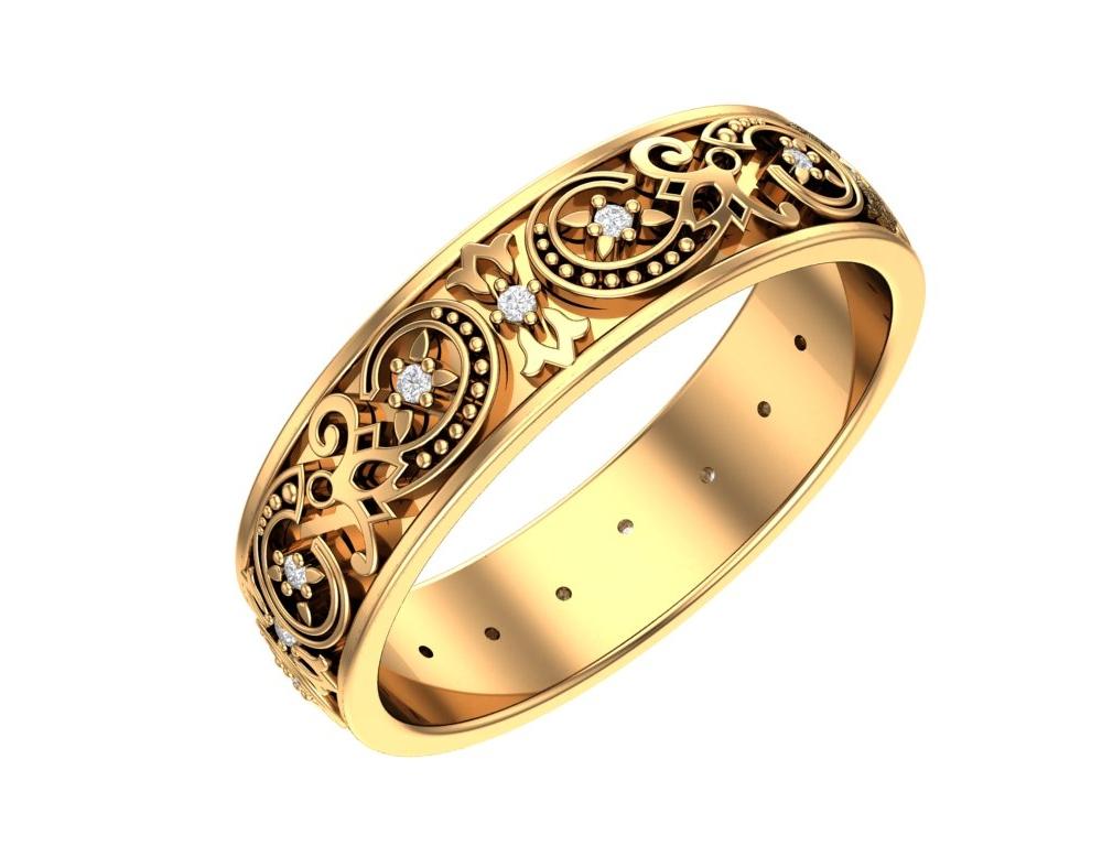 Где купить золотое кольцо с бриллиантом