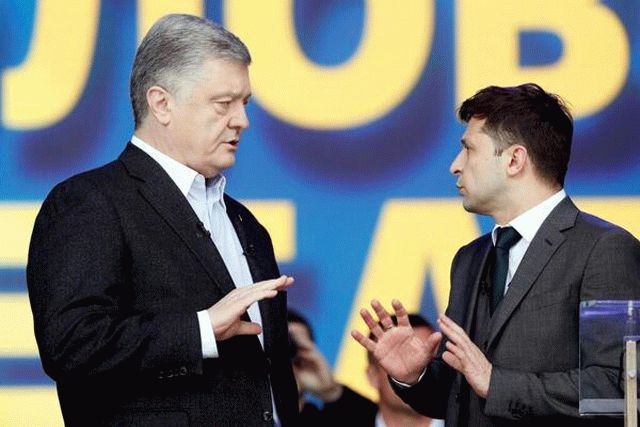 Порошенко ответил на выступление Зеленского