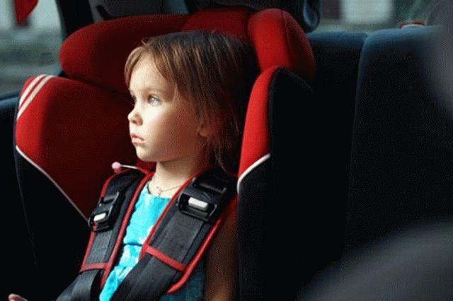 Рада приняла закон о штрафах за неправильную перевозку детей