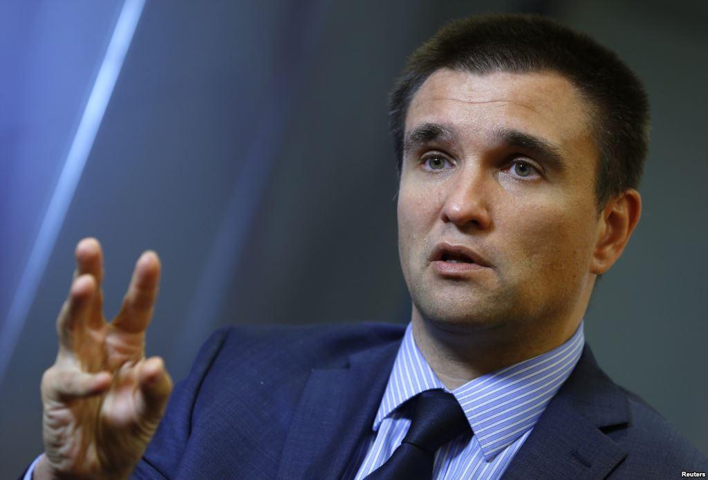 Климкин посоветовал Зеленскому создать специальный штаб