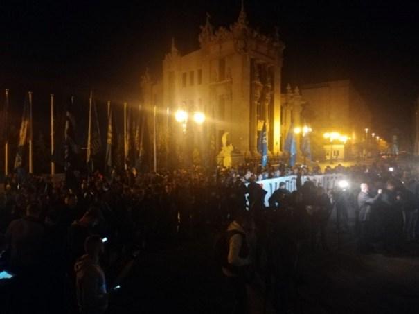 В Украине создали Движение сопротивления и созывают вече на Майдане