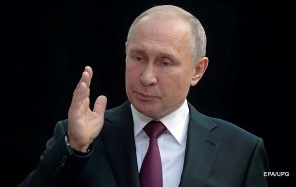 Путин обвинил Зеленского в срыве отведения войск