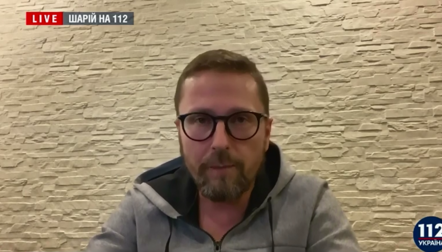 Шарий дебютировал на украинском телеканале