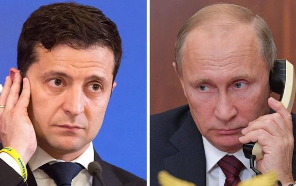 У Путина ответили на заявления Зеленского по Крыму и Донбассу