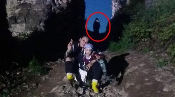В Карпатах туристы засняли «горного призрака»