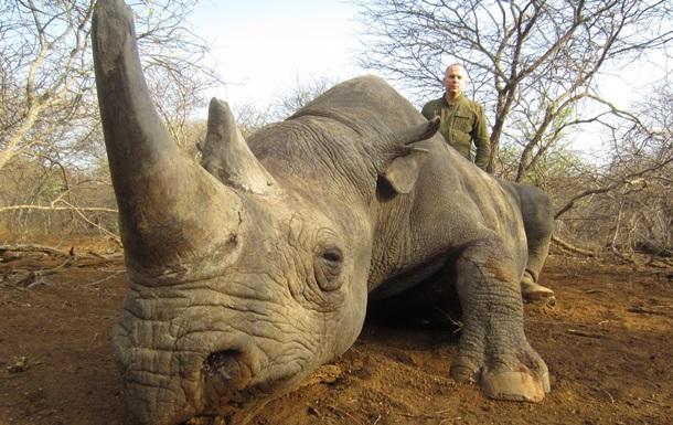 Шуфрич попал в скандал из-за убийства носорогов и леопарда