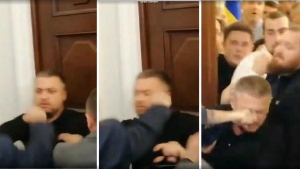 «Слуга народа» отреагировала на избиение своего депутата