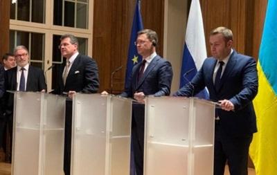 Украина и Россия договорились об условиях транзита газа