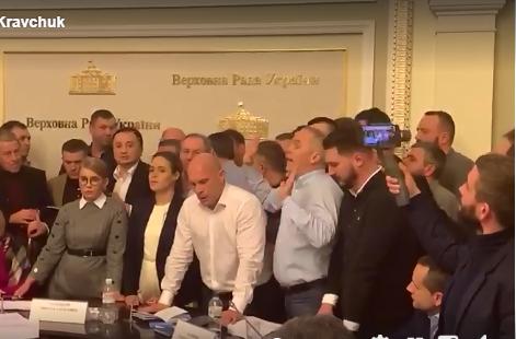 На заседании аграрного комитета Рады произошла драка: видео