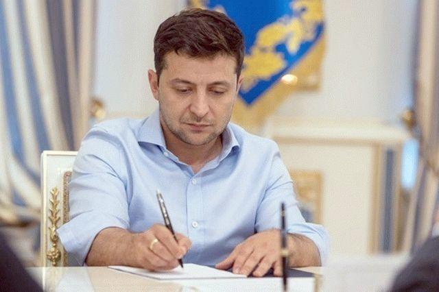 Зеленский предложил закон о «ворах в законе»