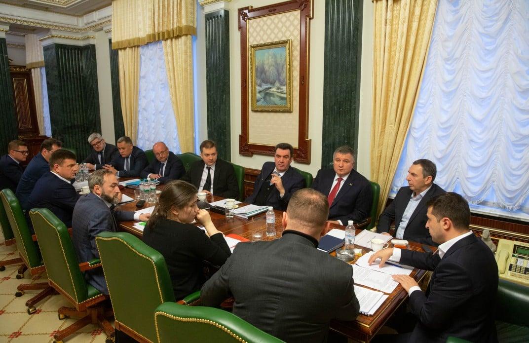 Зеленский утвердил пять сценариев реинтеграции Донбасса